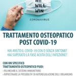 Trattamento Osteopatico post covid-19
